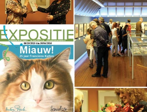Exhibition MIAUW crowns 25 years of Franciens Cats