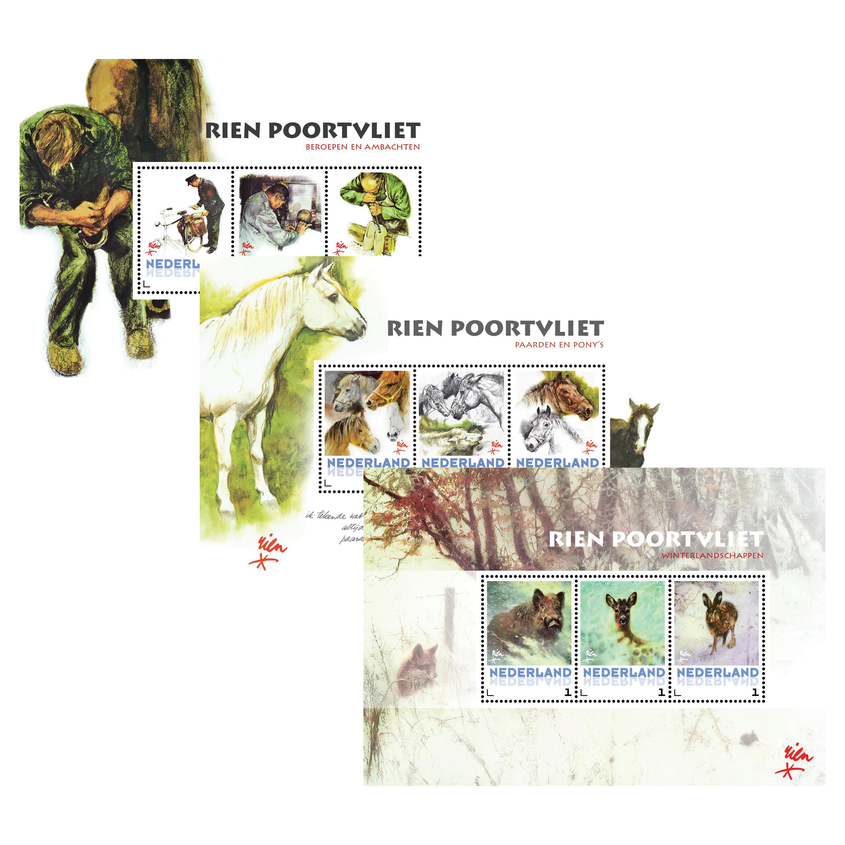 Rien Poortvliet - postzegels post.nl - Orange Licensing