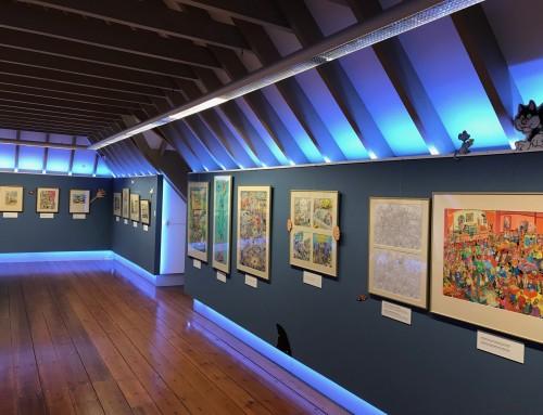 Jan van Haasteren expo at the Anton Pieck museum