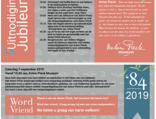 Anton Pieck museum 35 jaar!
