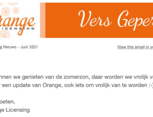 Zomer-update van Orange